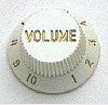 כפתור ווליום לבן קורט CORT G210