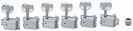 סט מפתחות וינטג' וילקינסון לחשמלית כרום WILKINSON WJ-55CR