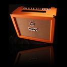 מגבר אורנג'  50W לגיטרה 2 ערוצים ORANGE ROCKVERB 50