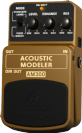 פדל ברינגר  BEHRINGER ACOUSTIC MODELER AM300