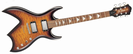 גיטרה חשמלית BC RICH MASTERPIECE BICH TOBACCO SUNBURST