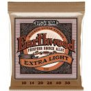 מיתרים ארני בל  ERNIE BALL  2150 Earthwood Phosphor Bronze  Acoustic 10-50
