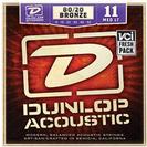 סט מיתרים 0.11 דאנלופ  לגיטרה אקוסטית DUNLOP DAB1152