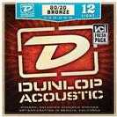 סט מיתרים  0.12 דאנלופ לגיטרה אקוסטית DUNLOP DAB1254