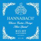 סט מיתרים לגיטרה קלאסית כחול HANNABACH Hard Tension HANE815