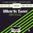 סט מיתרים 0.10 לאקוסטית סברז SAVAREZ S2230 Black Sun