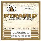 סט 12 מיתרים לאקוסטית פירמיד PYRAMID  PY33812