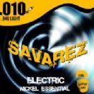 סט מיתרים לגיטרה חשמלית סברז 010 SAVAREZ Nickel Essential SS50L