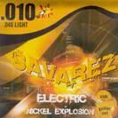 סט מיתרים לגיטרה חשמלית סברז  009 SAVAREZ Nickel Explosion  SX50L