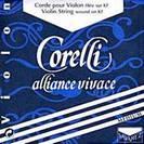 סט מיתרים לכינור מדיום  סברז SAVAREZ  Corelli Alliance Vivace S800