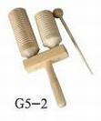 גביע עץ כפול עם מקוש  סנרייז  SUNRISE  G5-2