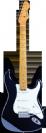 גיטרה חשמלית שחורה  בלייד BLADE Texas Pro