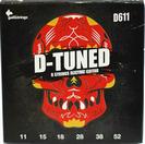 סט מיתרים גאלי  לגיטרה חשמלית 0.11-0.52 GALLI D-611 D-TUNE