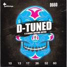 סט מיתרים גאלי  לגיטרה חשמלית 0.10-0.60 GALLI D-666 D-TUNE