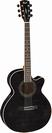 גיטרה אקוסטית מוגברת קורט  CORT SFX-FM TBK F. MAPLE CUTWAY