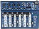 מיקסר 8 כניסות כולל נגן MIXTECH MP-8U MP3