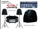 מערכת הגברה ניידת סאונדקינג SoundKing ZH0402D10P-1