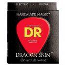 מיתרים לגיטרה חשמלית DR Strings DR DR DSE-9 Dragon Skin Electric