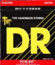 מיתרים לגיטרה חשמלית DR Strings Tite-Fit Extra-Heavy