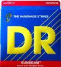 מיתרים לגיטרה אקוסטית  DR Strings 111DR-SUNBEAM
