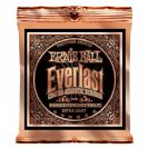 מיתרים ארני בל ERNIE BALL 2550 Everlast Coated Phosphor Bronze Acoustic 10-50