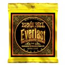 מיתרים ארני בל ERNIE BALL 2560 Everlast Coated 80/20 Acoustic 10-50