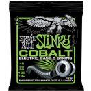 מיתרים לבס ארני בל ERNIE BALL 2736 Cobalt Slinky 5-String Bass 45-130