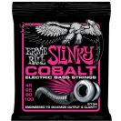מיתרים לבס ארני בל ERNIE BALL 2734 Cobalt Super Slinky Bass 45-100