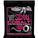 מיתרים לחשמלית ארני בל ERNIE BALL 2723 Cobalt Super Slinky Electric 9-42