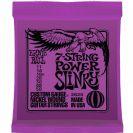 מיתרים לחשמלית ארני בל ERNIE BALL 2620 7-String Power Slinky Electric 11-58