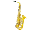סקסופון אלט (GOLDEN CUP JHAS1102D alto saxophone(double colors
