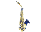 סקסופון סופרן (GOLDEN CUP JHSS1100D curved soprano saxophone(double colors