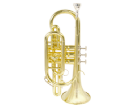 קורנית (GOLDEN CUP JHCT1408 cornet(with triggers,lacquer