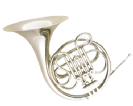 קרן יער (GOLDEN CUP JHFH1901N french horn(three piston single nickel plated