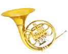 קרן יער (GOLDEN CUP JHFH1902 french horn(four pistones, single lacquer