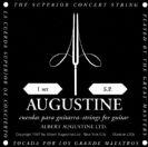 מיתרים לגיטרה קלאסית אוגוסטין AUGUSTINE Black Label Classical Guitar Strings