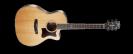 גיטרה אקוסטית מוגברת קורט  CORT GA5F-BW NS