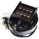 מולטיכבל רוקסטון 10מ. 8 ROXTONE K8L10 XLR