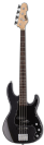 גיטרה בס ESP LTD AP-204 CHARCOAL METALLIC