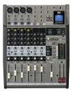 מיקסר 4 מיק', 4 סטריאו, AUX, אפקט, נגן USB,  פוניק PHONIC AM1204FX USBR