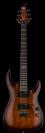 גיטרה חשמלית ESP LTD H-101FM DARK BROWN SUNBURST
