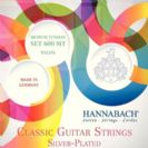 סט מיתרים לגיטרה קלאסית HANNABACH HAN600MT