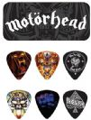 קופסה עם 6 מפרטים ג'ים דאנלופ JIM DUNLOP MHPT03 Motörhead Album Art