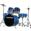 מערכת תופים ג'וניור 5 חלקים לודוויג LUDWIG LJR106 BLUE
