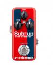 אפקטים לגיטרה טיסי אלקטרוניק TC ELECTRONIC Sub 'N' Up Mini  Octaver